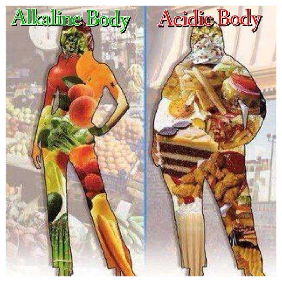 how to alkalize your body Alkaline VS. Acidic body -